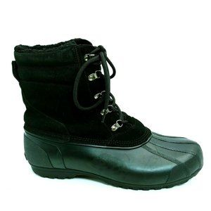 Lands End Mens 487492 Leather Winter Duck Boot 12D